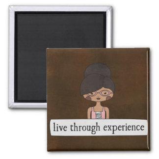 Viva com a experiência por Linda Tieu Imas