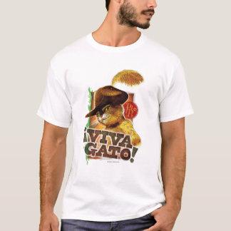 Viva Gato! Camiseta