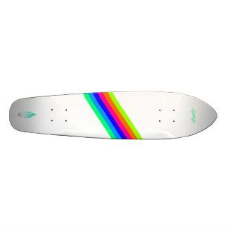Viva para montar - listras shape de skate 18,1cm