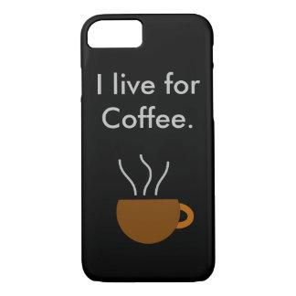 Viva para o café capa iPhone 7