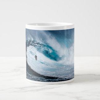 Viva para surfar - surfe à caneca de café surfando
