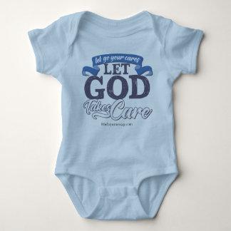 Vive a camisa do bebê da vida Deixar-Ir