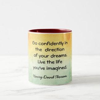 Vive a vida --- Caneca de café