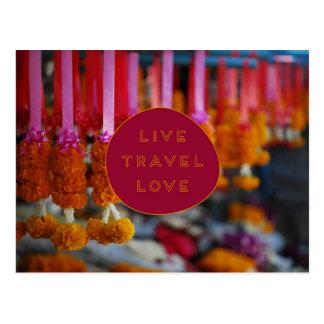 Vive o CARTÃO do amor do viagem