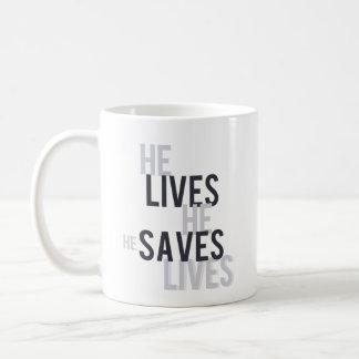 Vive. Salvar a caneca de café