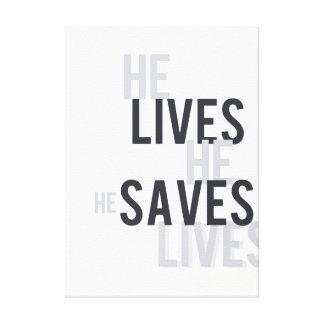 Vive. Salvar. Salvar a arte das canvas das vidas