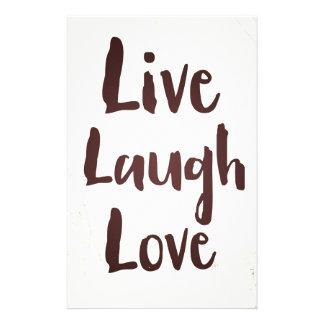 Vivem as citações inspiradas do vintage do amor do papelaria