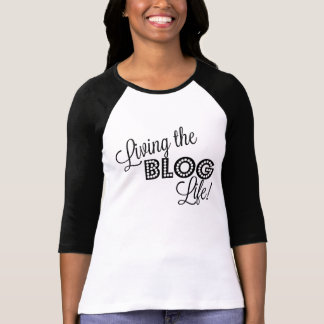 Vivendo a vida do blogue!  Camisa do Blogger