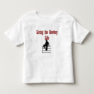 Vivendo a vida do vaqueiro camisetas