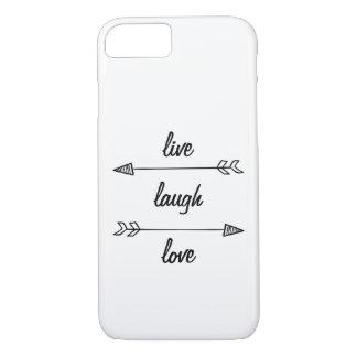 Vivo, riso, capa de telefone do amor