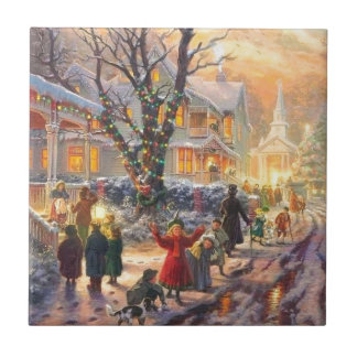Vizinhança do natal vintage