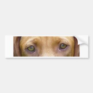 vizsla eyes.png adesivo para carro
