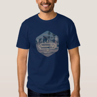 VK American Style Masculino Camisetas