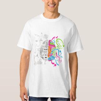 VK Analytical and Creative Brain Tshirt