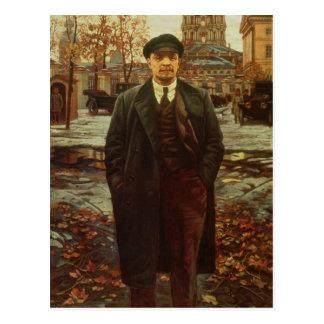 Vladimir Ilyich Lenin em Smolny, c.1925 Cartão Postal