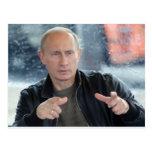 Vladimir Putin Cartão Postal