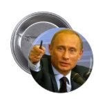 Vladimir Putin quer dar a esse homem um biscoito! Bóton Redondo 5.08cm