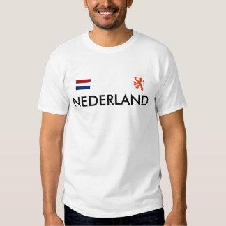 vlag, lionO, NEDERLAND - personalizado Camisetas