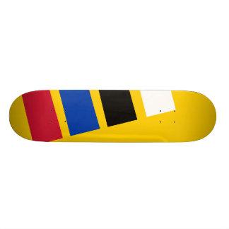 VlagLiesveld, Países Baixos Shape De Skate 18,4cm