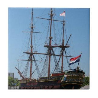VOC de madeira do navio da vela de Amsterdão -