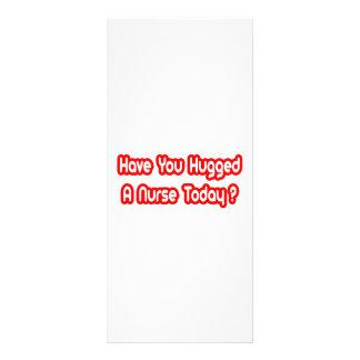 Você abraçou uma enfermeira hoje? 10.16 x 22.86cm panfleto