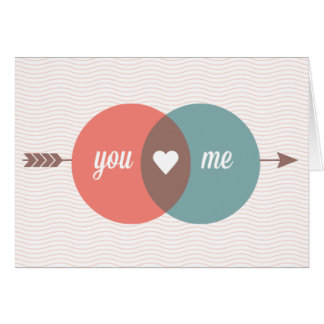 Você ama-me cartão comemorativo