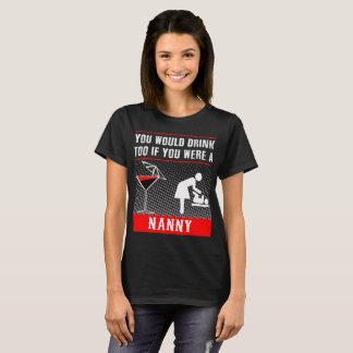 Você beberia demasiado se você era um t-shirt do camiseta