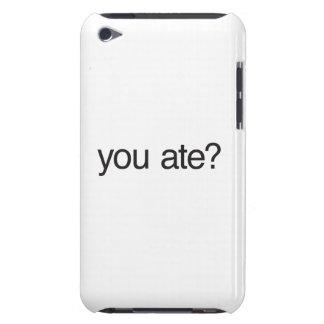 você comeu capa iPod touch Case-Mate