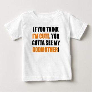Você conseguiu ver minha madrinha camisetas