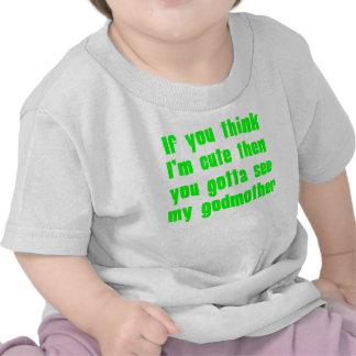 Você conseguiu ver minha madrinha tshirt