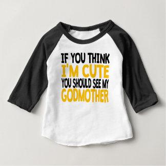 Você deve ver minha madrinha t-shirts