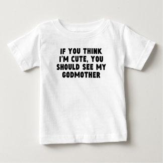 Você deve ver minha madrinha tshirt