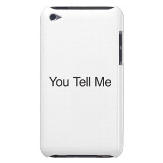 Você diz-me capas iPod touch Case-Mate