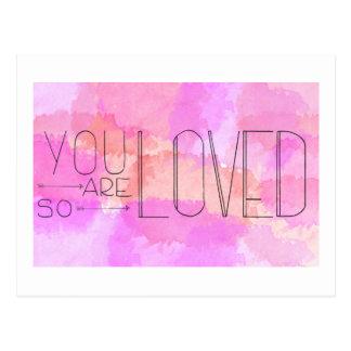 Você é assim que cartão amado
