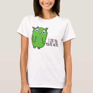 Você é camisa estranha de t