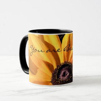 Você é caneca de café bonita de Susan de olhos