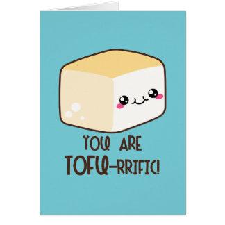 Você é cartão do tofu-rrific