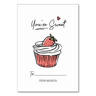 Você é cartão doce dos namorados da sala de aula
