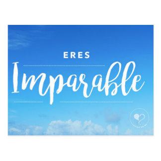Você é cartão (espanhol) que nada pode parar