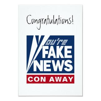 Você é cartão falsificado da mensagem da notícia