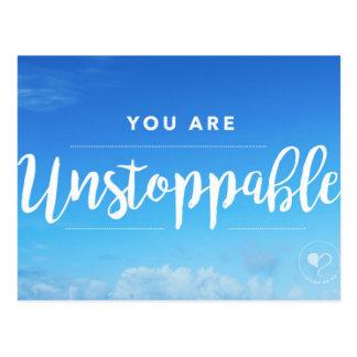 Você é cartão que nada pode parar