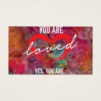 Você é cartões amados