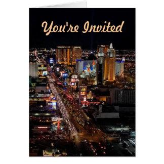 Você é cartões convidados de Las Vegas