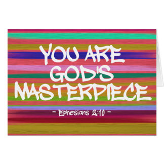 Você é citações de Ephesians da obra-prima do deus Cartões
