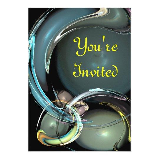 Você é convidado convite 12.7 x 17.78cm