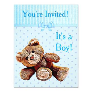 Você é convidado, ele é um convite do chá de