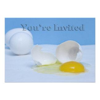 Você é convidado - multi comida pequeno almoço da convites personalizado