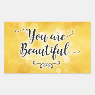 Você é etiqueta bonita