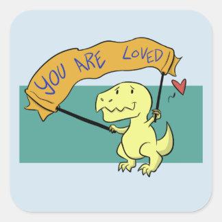 Você é etiquetas amadas de T-Rex do bebê