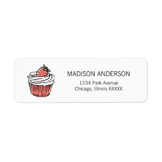 Você é etiquetas de endereço doces dos namorados